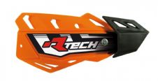Racetech Orange FLX Standard Handguards With Mount Kit Motocross Enduro